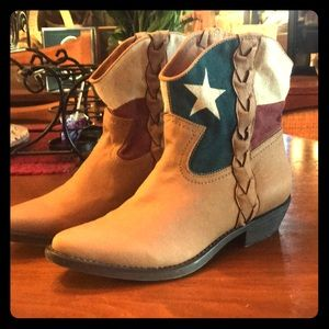 American Flag Ankle Boots